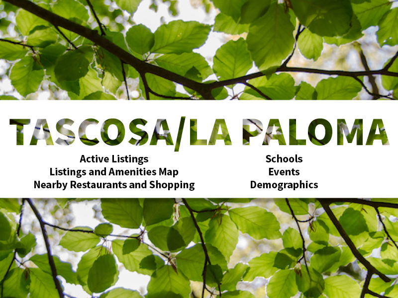 Tascosa La Paloma Real Estate Neighborhood in Amarillo page featuring neighborhood description, amenities and listings map, nearby restaurants, shopping, events and schools, and neighborhood demographics